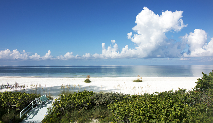 Anna Maria Island Beach Front Picture